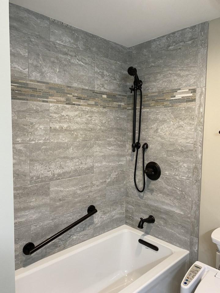 Trull tub install